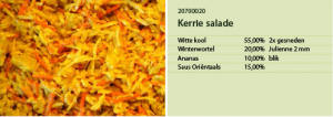 Kerrie salade