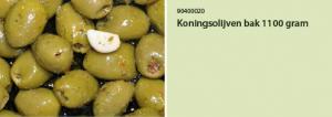 Koningsolijven bak 1100 gram