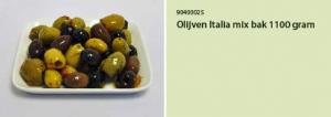 Olijven Italia mix bak 1100 gram