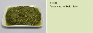 Pesto naturel bak 1 kilo