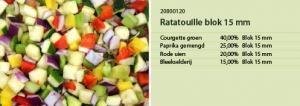 Ratatouille blok 15 mm