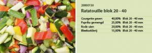 Ratatouille blok 20 40