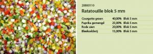 Ratatouille blok 5 mm