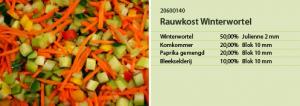 Rauwkost Winterwortel