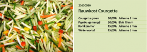 Rauwkost courgette
