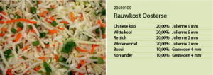 Rauwkost oosterse