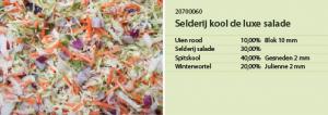 Selderij kool de luxe salade
