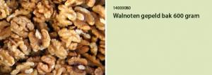 Walnoten gepeld bak 600 gram